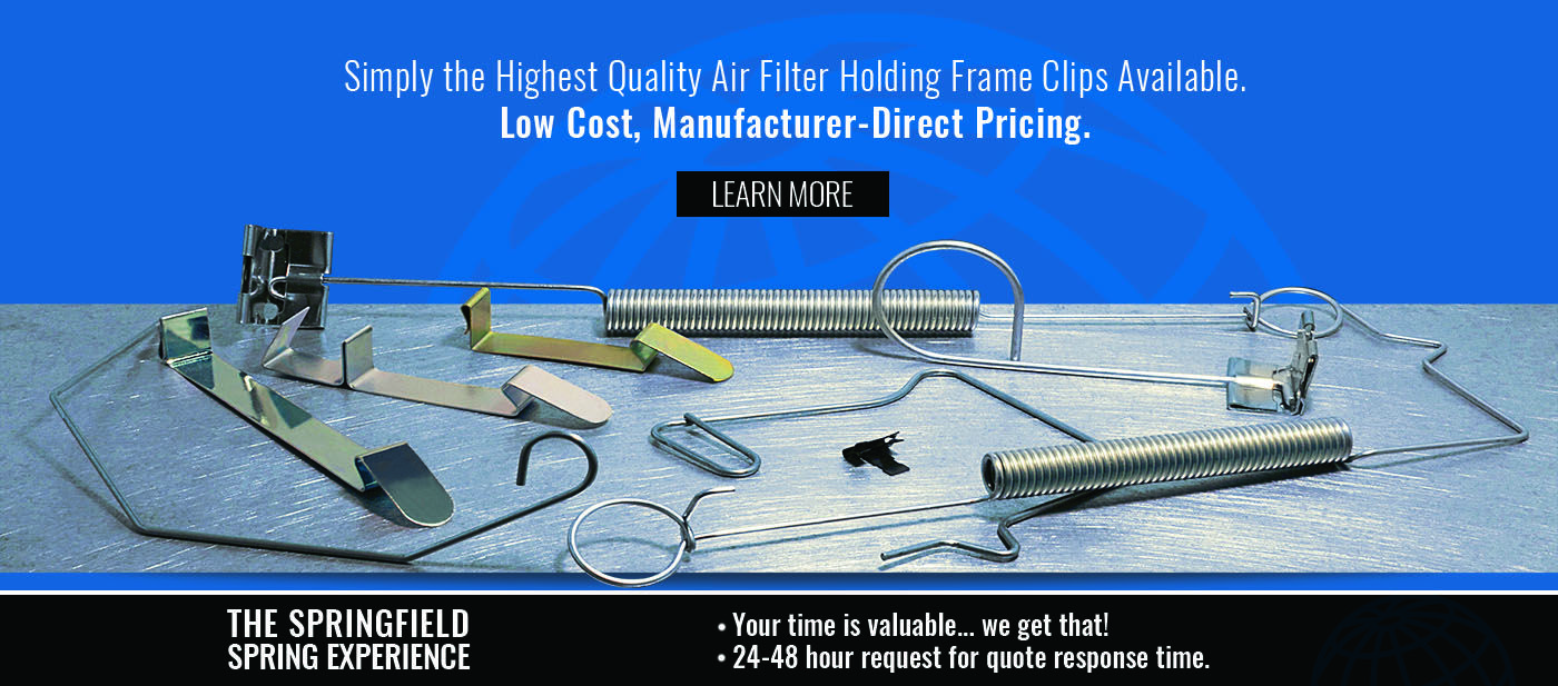 Air Filter Holding Frame Clips