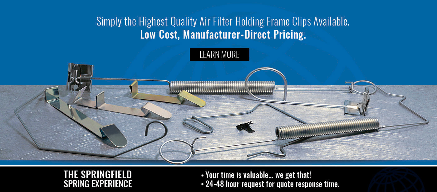 Homepage Air Filter Banner